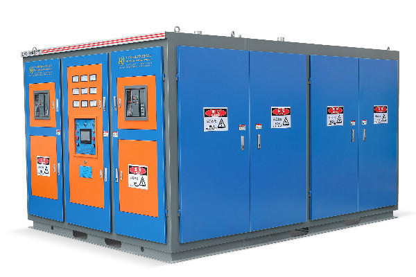 Medium frequency furnace power supply