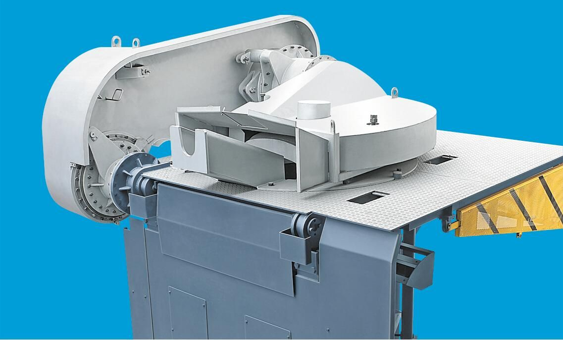 induction melting furnace equipped with sealed spherical roller bearings applied in other fields-2