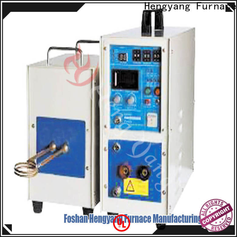 automatic electric induction furnace equipment easy for relocatio applying in electronic components