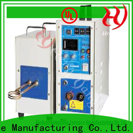 safety gold induction furnace induction with a compact design applying in the modern electrical