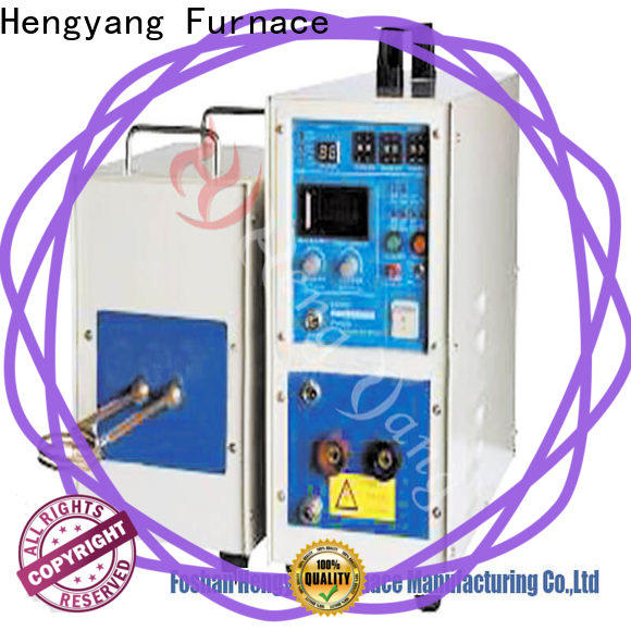 Hengyang Furnace IGBT induction furnace provides high energy utilization efficiency applying in electronic components