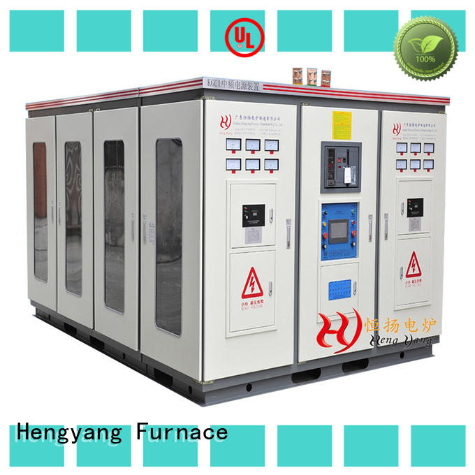Hengyang Furnace induction melting furnace with different types and sizes applied in oil