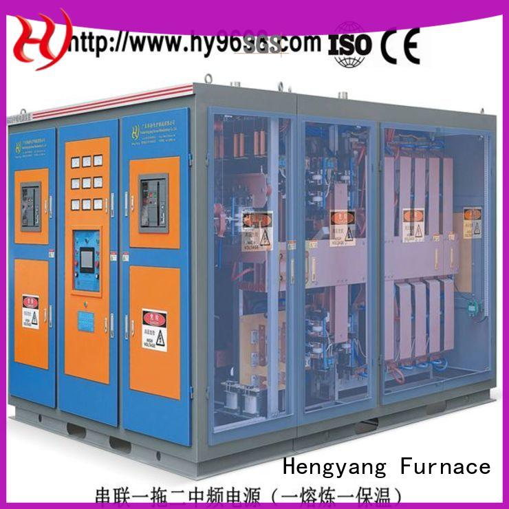 Hengyang Furnace induction melting machine equipped with sealed spherical roller bearings applied in oil