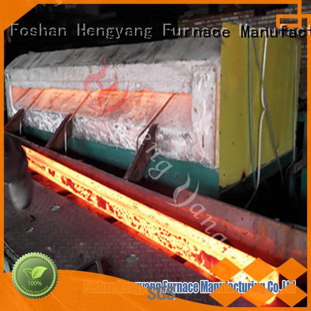 Hot induction heating furnace equipment Hengyang Furnace Brand