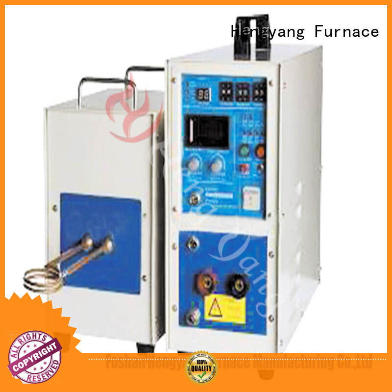 Hengyang Furnace induction electric induction furnace easy for relocatio applying in electronic components