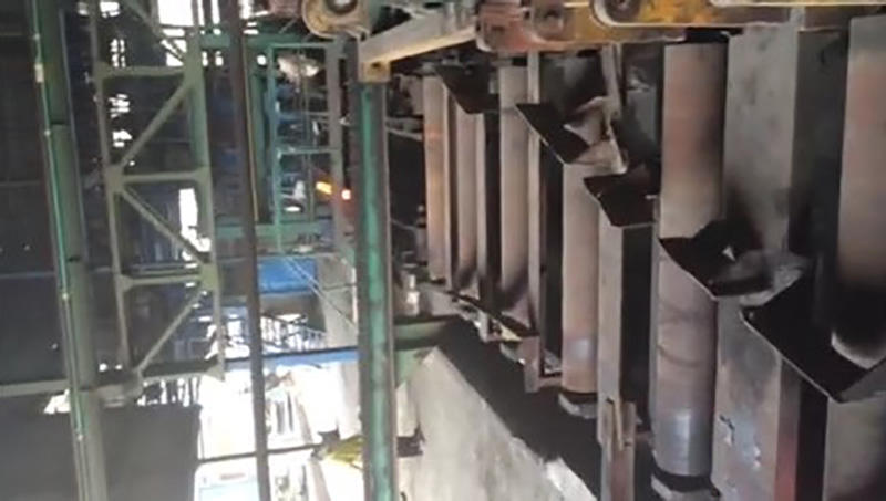 Continuous Casting and Rolling Working Process