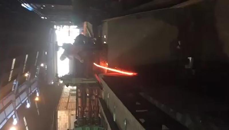 Rolling Mill Machine Working Process