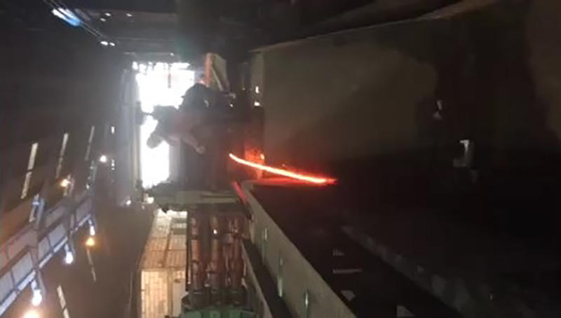 Rolling Mill Machine Working Process