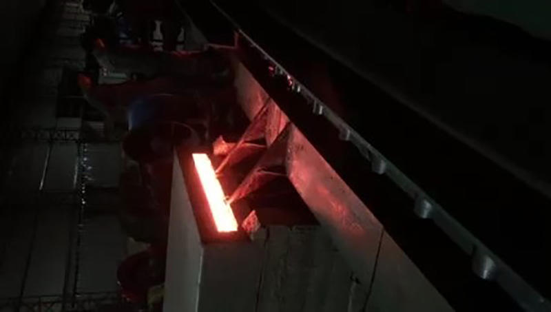 Billet Heating Before Going into Rolling Mill