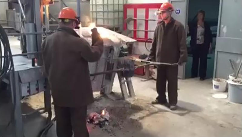 Aluminium Shell Furnace Melting Process