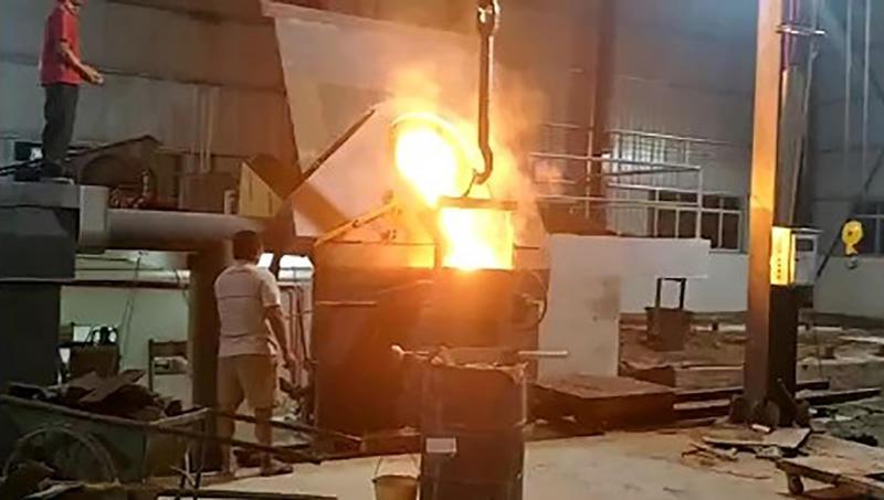 Steel Shell Furnace Melting Process