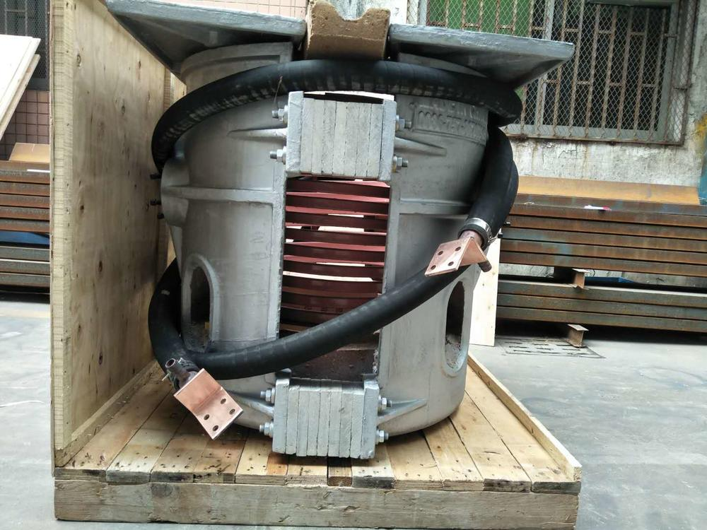 350kg of Aluminium Melting Furnace Shipped to South Africa