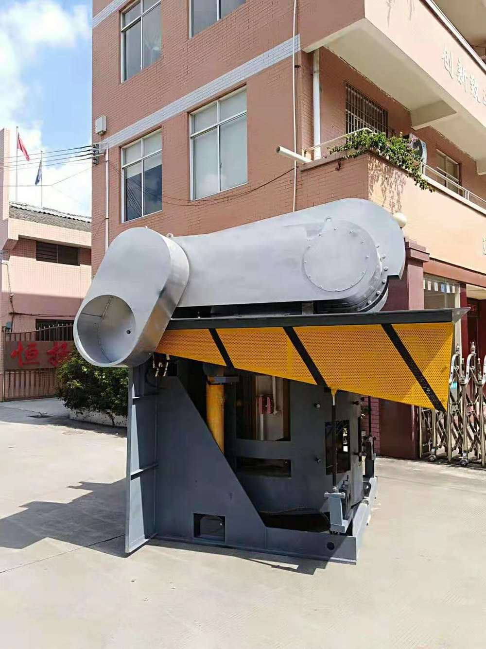 3 Tons of Electric Melting Furnace Shipped to Algeria