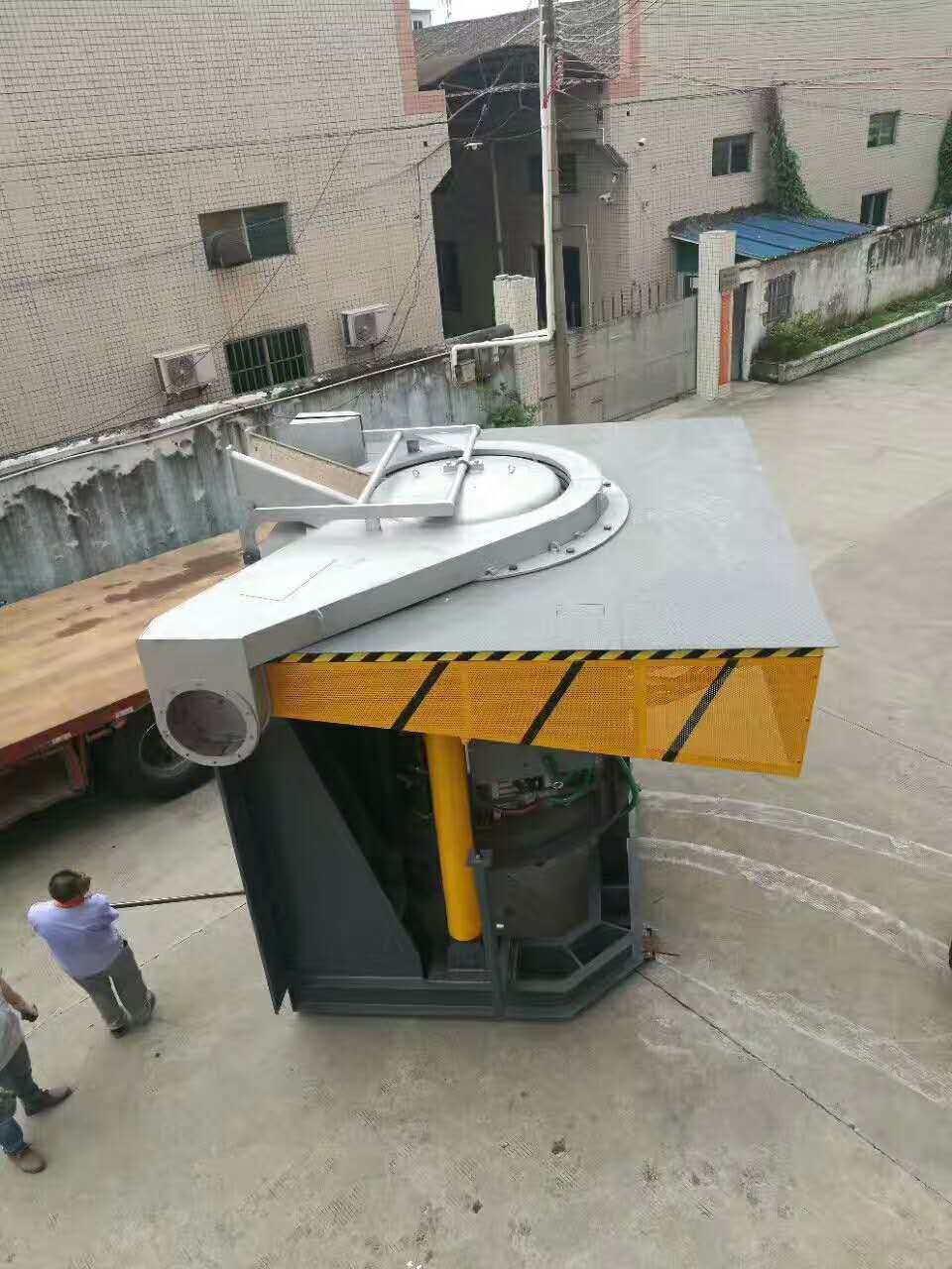8 Tons of Induction Electric Furnace