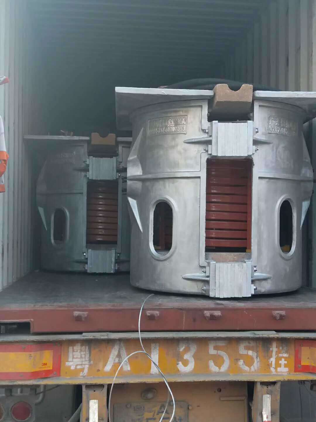 750kg of Copper Melting Furnace for Sale
