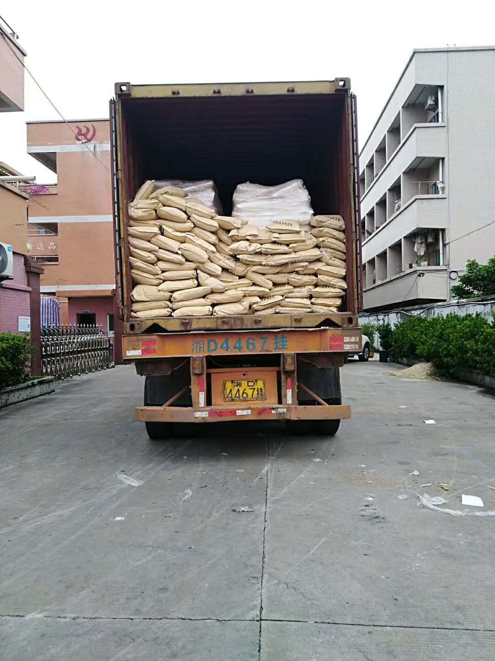 20 Tons of Lining Material Shipped to Georgia