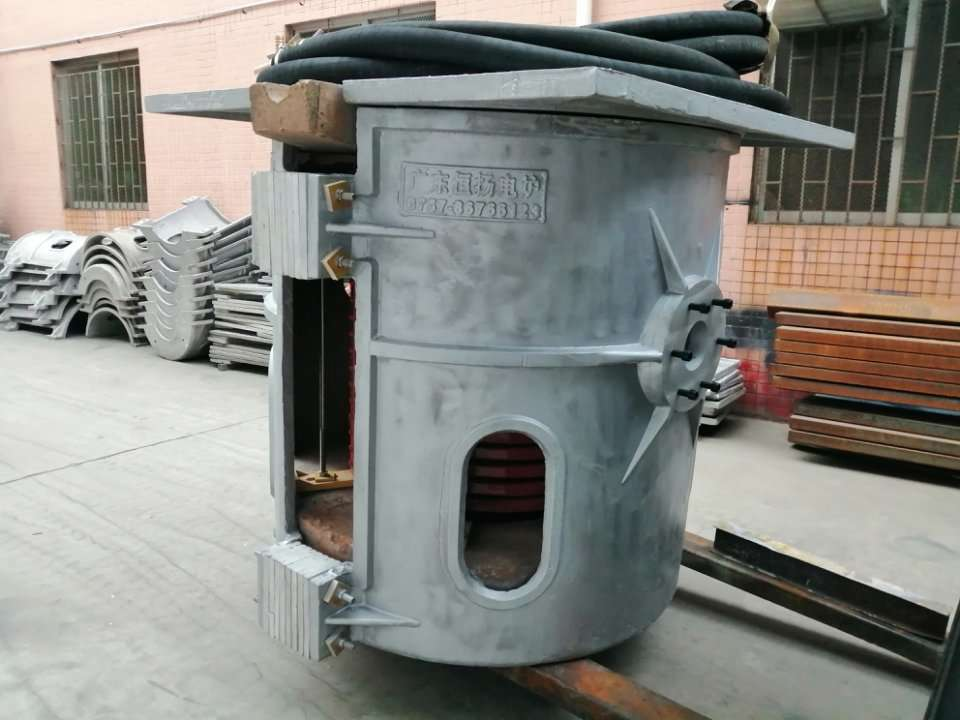 Medium Frequency Induction Furnace Shipped to Uzbekistan
