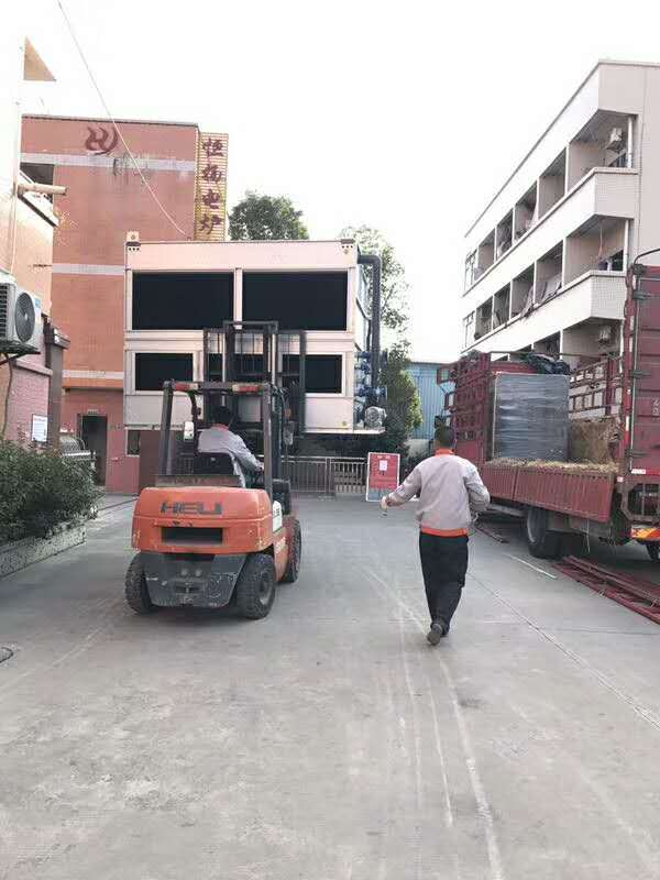 3 Tons of Induction Melting Furnace with Closed Cooling Tower