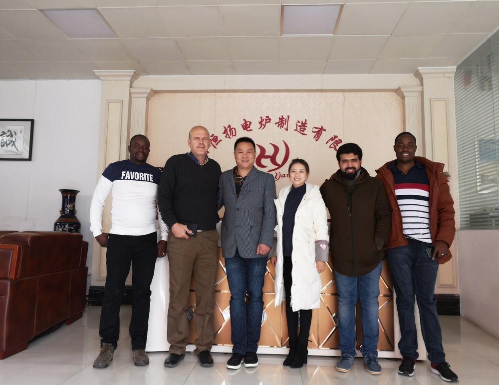 Customers from Zimbabwe, Egypt, and Saudi Arabia