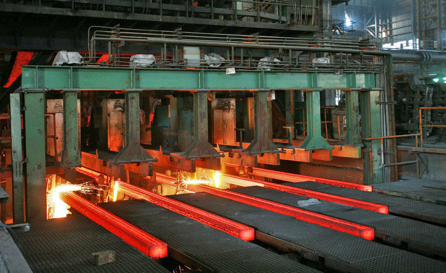 professional continuous casting of steel machine for slabs Hengyang Furnace
