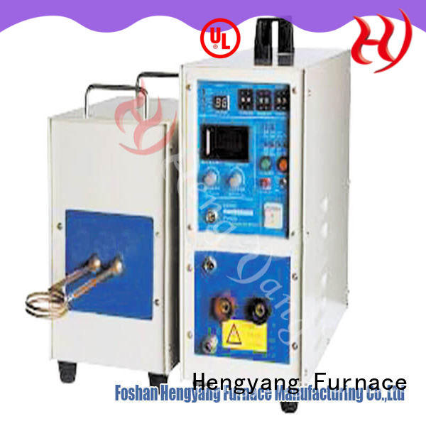 Hengyang Furnace hf induction furnace provides high energy utilization efficiency