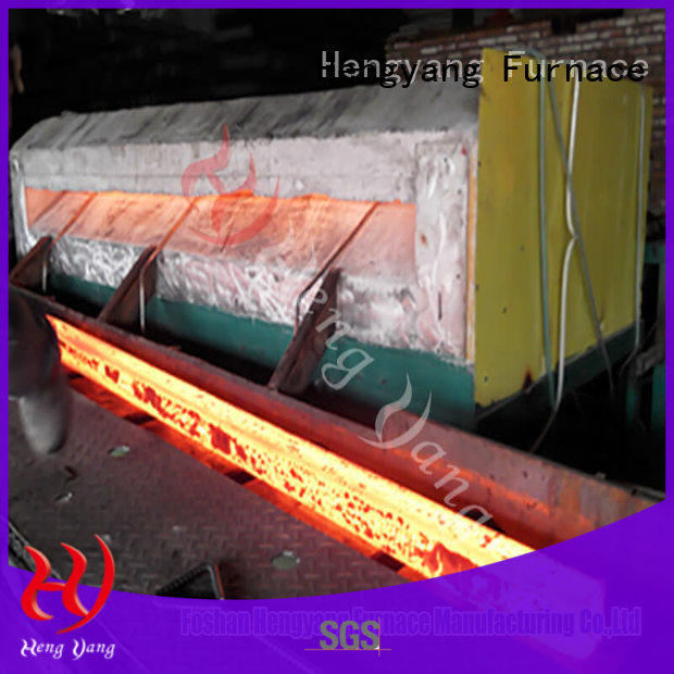 Hengyang Furnace heating induction heating furnace supplier applied in oil