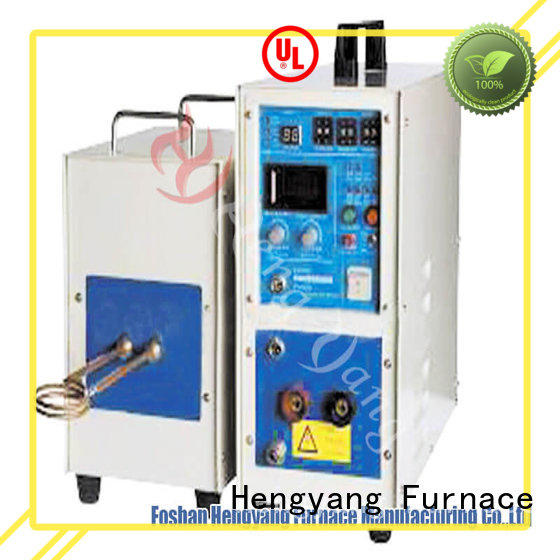 Hengyang Furnace high reliability steel induction furnace provides high energy utilization efficiency applying in the modern electrical
