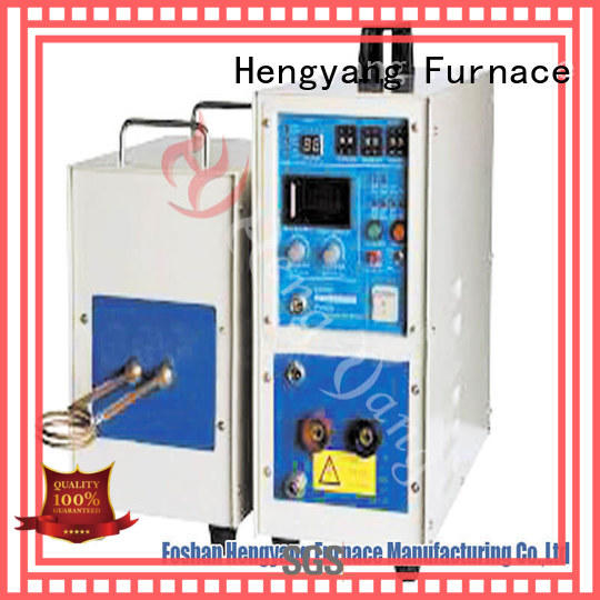 Hengyang Furnace high reliability aluminum induction furnace with a compact design applying in the modern electrical