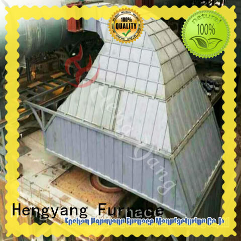 water Custom induction furnace closed circuit cooling tower Hengyang Furnace dust