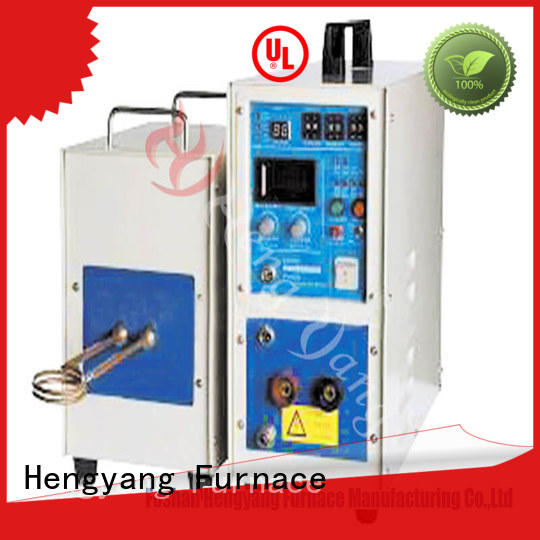 automatic induction furnace heating provides high energy utilization efficiency applying in electronic components