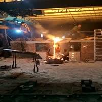 Aluminium Shell Iron Scrap Melting Furnace
